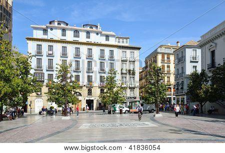 Town Square In Spring Granada