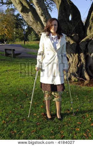Crutches For Support