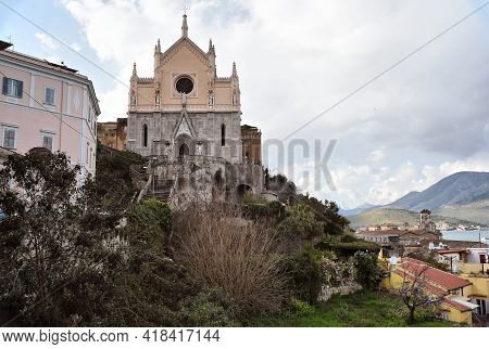 Church Of Saint Francis In Gaeta Town, Lazio Region, Italy