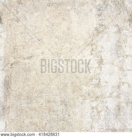 Seamless texture of old wall and cracked stucco. Template of stucco of beige color. Endless texture can be used for wallpaper, pattern fills, web page background, surface textures