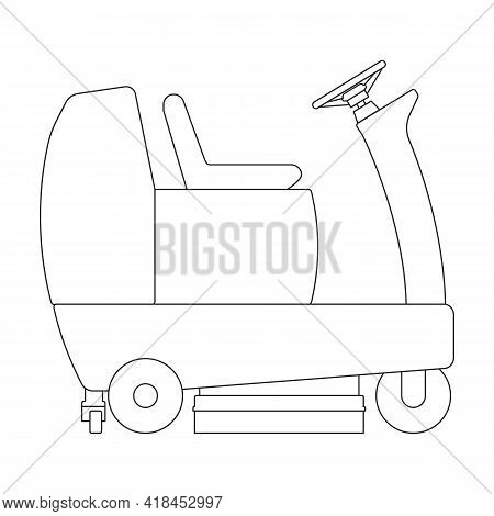 Vacuum Cleaner Vector Icon.realistic Vector Icon Isolated On White Background Vacuum Cleaner.