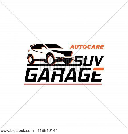 Car Logo Template Modern Vector Illustration With Flat Color Best For Automotive Business Sticker Or