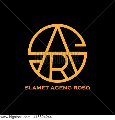 S A R Design Logo Vector. S A R Letter Logo Business