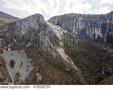Amazing View Of Vrachanska Skaklya -the Highest Waterfall In The Balkans Near Town Of Vratsa,  Bulga