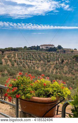 Villa di Artimino, UNESCO site near Florence, Tuscany region, Italy