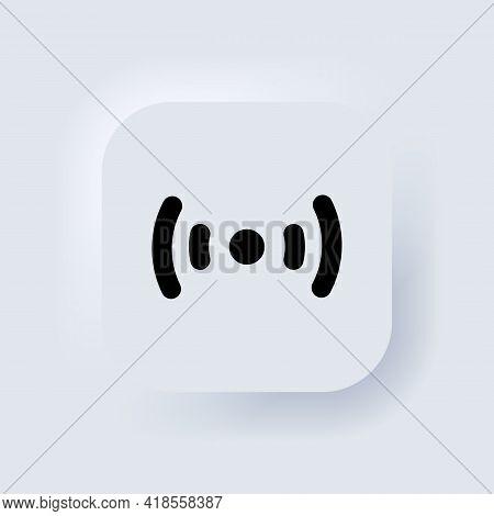Wireless And Wifi Icon. Wi-fi Signal Symbol. Wifi Wireless Icon Visualization Signal. Remote Interne