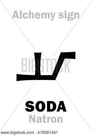 Alchemy Alphabet: Soda (natron), Soda Ash (sal Soda), Washing Soda (soda Hispanica), Native Soda, So