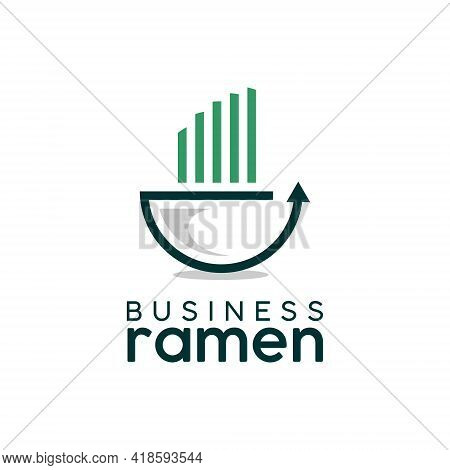 Business Logo Playful Ramen Bar Vector Design For Food And Culinary Industry Template Inspiration