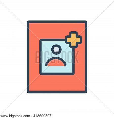 Color Illustration Icon For Request Anurodh Urge Solicitation