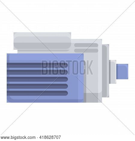 Motor Water Purification Icon. Cartoon Of Motor Water Purification Vector Icon For Web Design Isolat