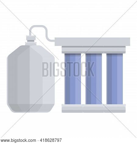 Stage Water Purification Icon. Cartoon Of Stage Water Purification Vector Icon For Web Design Isolat