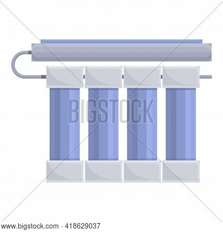 Water Purification System Icon. Cartoon Of Water Purification System Vector Icon For Web Design Isol