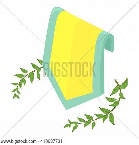 Heraldic Symbol Icon. Isometric Illustration Of Heraldic Symbol Vector Icon For Web