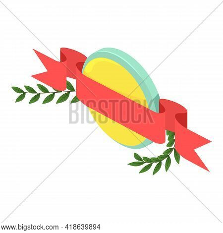 Heraldic Object Icon. Isometric Illustration Of Heraldic Object Vector Icon For Web