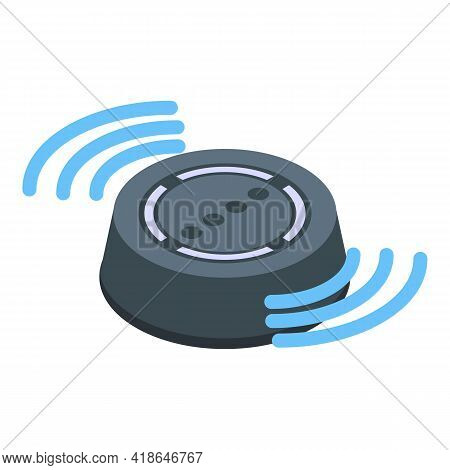 Record Speech Recognition Icon. Isometric Of Record Speech Recognition Vector Icon For Web Design Is