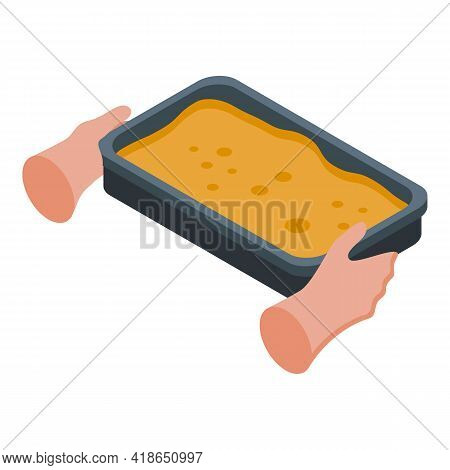 Baking Hands Icon. Isometric Of Baking Hands Vector Icon For Web Design Isolated On White Background
