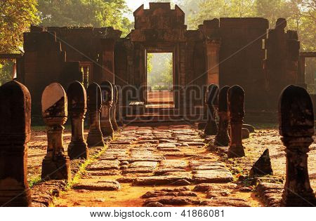 Ancient  temple Koh Ker,Cambodia