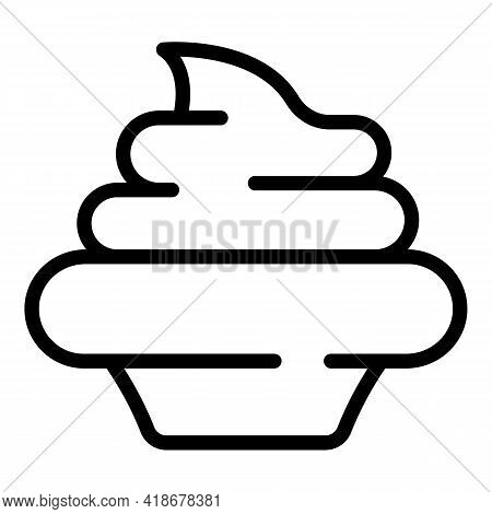 Culinary Wasabi Icon. Outline Culinary Wasabi Vector Icon For Web Design Isolated On White Backgroun