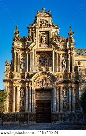 The Monasterio De La Cartuja De Santa Maria Of Jerez De La Frontera In Andalusia, Spain
