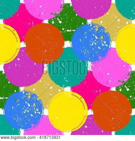 Nine Color Stamps Seamless Geomtric Texture For Your Design