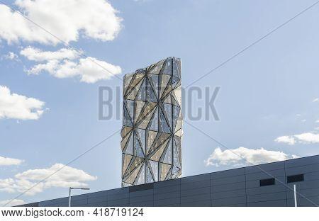 July 2020. London. Greenwich Peninsula Low Carbon Energy Centre, , London England