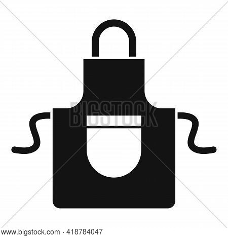 Dry Cleaning Apron Icon. Simple Illustration Of Dry Cleaning Apron Vector Icon For Web Design Isolat