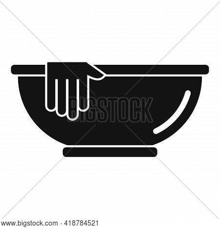 Wash Basin Icon. Simple Illustration Of Wash Basin Vector Icon For Web Design Isolated On White Back