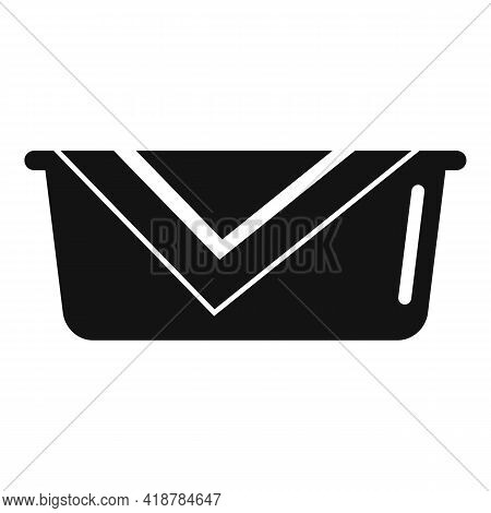 Cleaner Basin Icon. Simple Illustration Of Cleaner Basin Vector Icon For Web Design Isolated On Whit