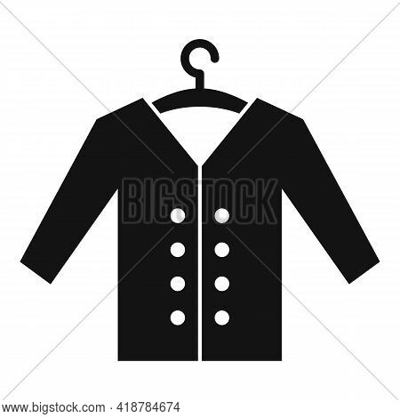 Clean Jacket Icon. Simple Illustration Of Clean Jacket Vector Icon For Web Design Isolated On White
