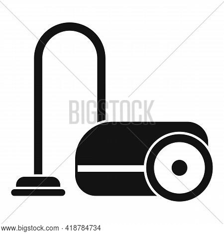 Vacuum Cleaner Icon. Simple Illustration Of Vacuum Cleaner Vector Icon For Web Design Isolated On Wh
