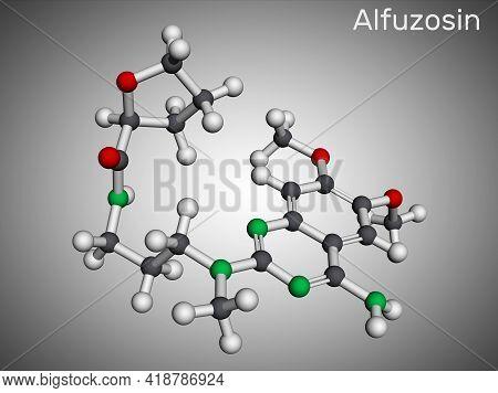 Alfuzosin Molecule. It Is Antineoplastic Agent, An Antihypertensive Agent, An Alpha-adrenergic Antag