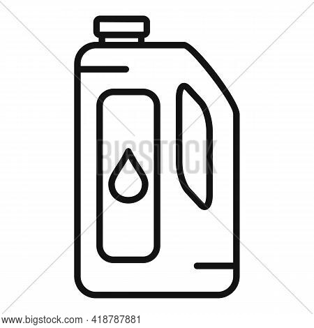 Dry Cleaning Bottle Icon. Outline Dry Cleaning Bottle Vector Icon For Web Design Isolated On White B