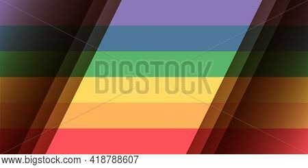 Lgbt Pride Flag Background. Rainbow Pride Flag Include Of Lesbian, Gay, Bisexual, And Transgender Fl