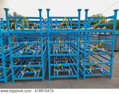 Heavy Duty Industrial Warehouse Storage Trolley Auto Parts Heavy Duty Trolley