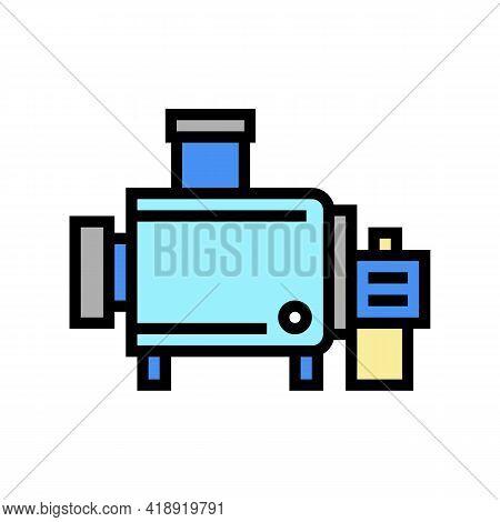 Cheesemaking Equipment For Prepare Cheese Color Icon Vector. Cheesemaking Equipment For Prepare Chee