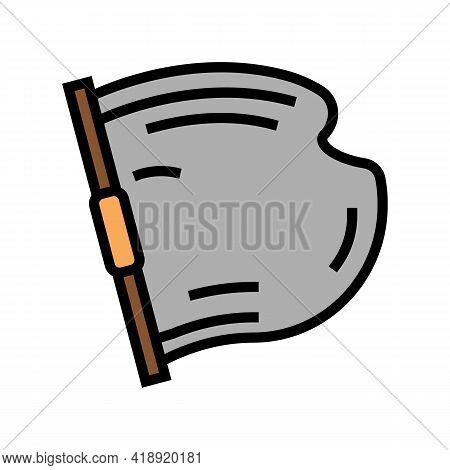 Concrete Building Material Color Icon Vector. Concrete Building Material Sign. Isolated Symbol Illus