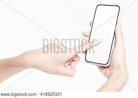 Mobile app showcase mockup phone screen