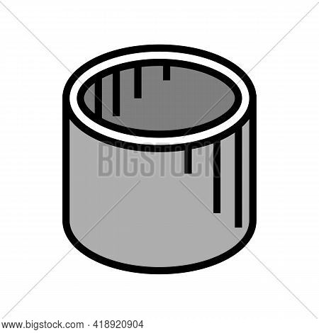 Well Rings Concrete Color Icon Vector. Well Rings Concrete Sign. Isolated Symbol Illustration