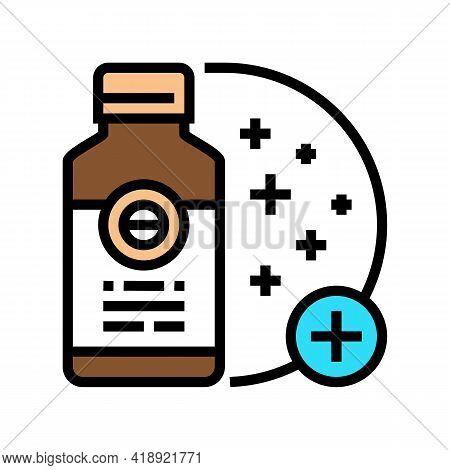 Skin Regeneration Medicament Color Icon Vector. Skin Regeneration Medicament Sign. Isolated Symbol I