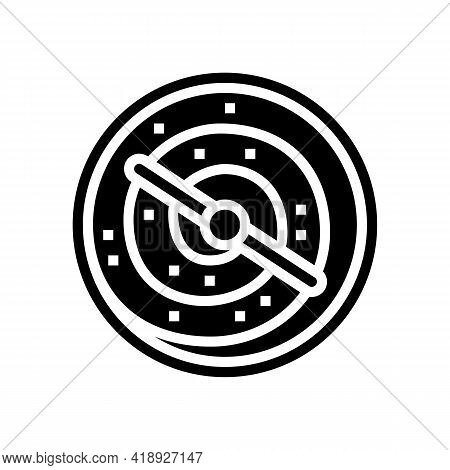 Mixer Factory Cheese Production Glyph Icon Vector. Mixer Factory Cheese Production Sign. Isolated Co