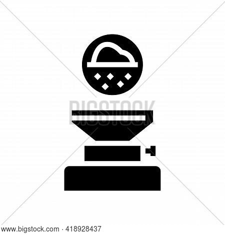 Filtration Pharmaceutical Production Glyph Icon Vector. Filtration Pharmaceutical Production Sign. I