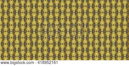 Ethnic Indonesian Batik Pattern Design Texture Background