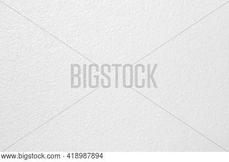 Abstract White Cement Wall Grain, Grunge Texture For Background.