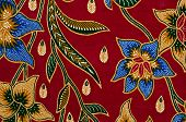 Batik and Pattern Textile in Asia like Malaysia, Indonesia and Thailand poster