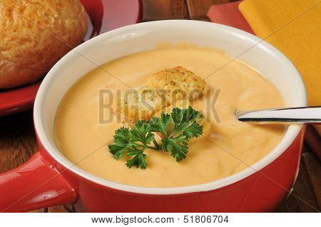 Creamy Lobster Bisque With Sherry