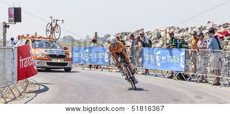 The Cyclist Ruben Perez Moreno