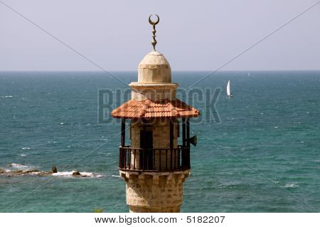 Minaret in Jaffa