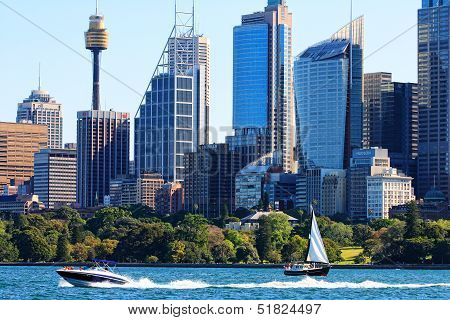 Sydney Harbour, Hyde Park and Sydney, Australia