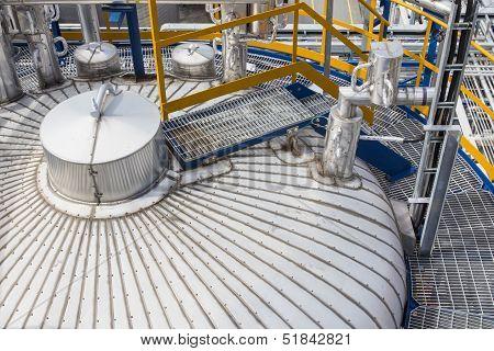 Insulation Of Tank Storage
