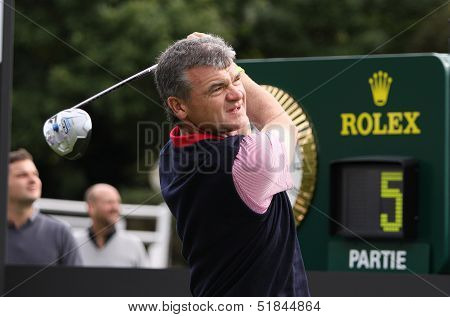 Paul Lawrie  at the Seve Trophy 2013